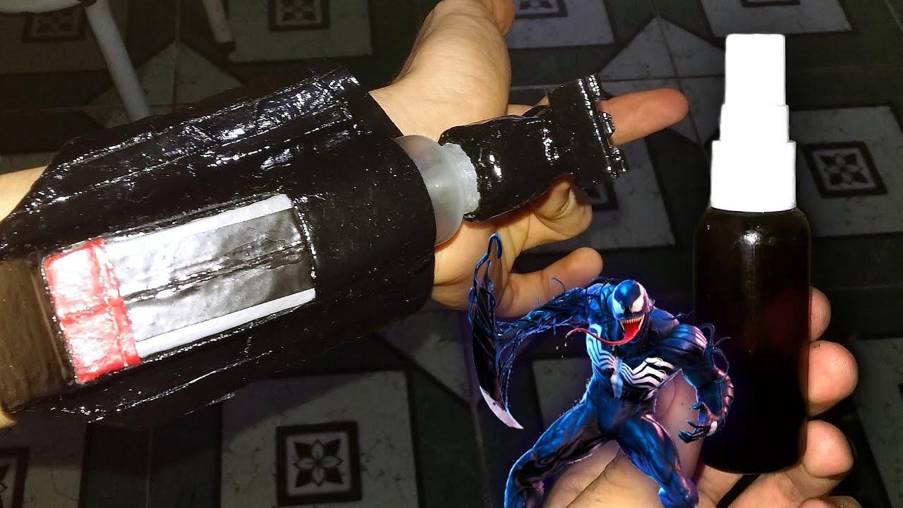 Teia do Venom Real Sendo Disparada 🕸️🤟 #Shorts