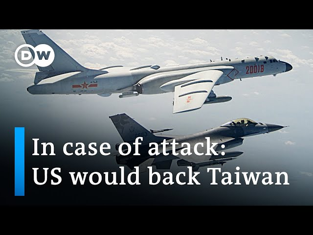 Biden says US would defend Taiwan against China | DW News