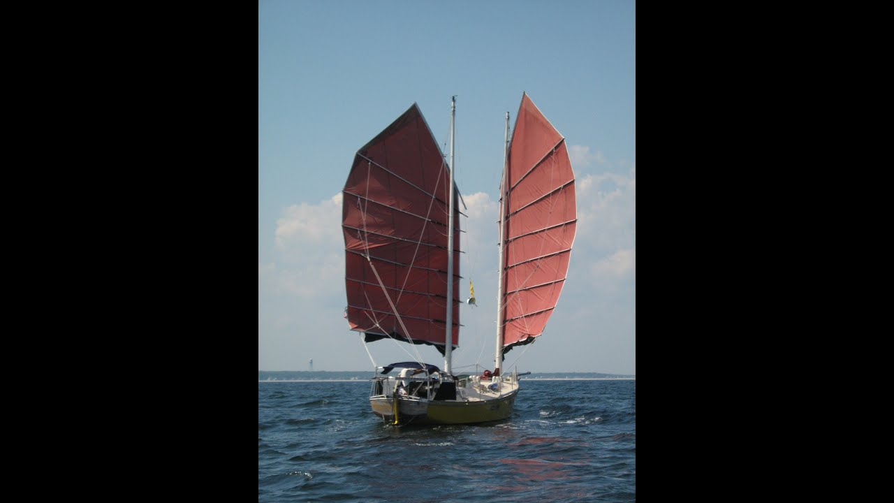 Terrapin 1 A Junk Rigged Sailboat Travels In The