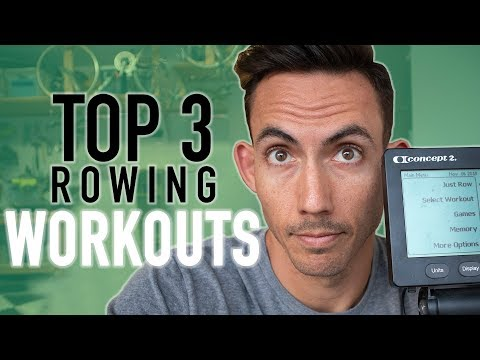 TOP 3 ROWING MACHINE WORKOUTS (In 20 Minutes or less)