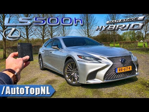 2018 Lexus LS 500h President REVIEW POV on ROAD & AUTOBAHN by AutoTopNL