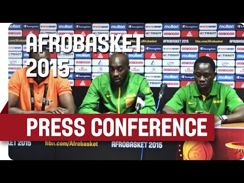Senegal v Algeria  - Post Game Press Conference - AfroBasket 2015