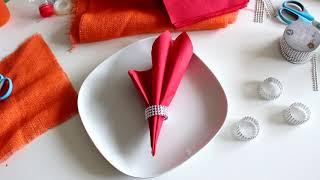 Bastel Tisch  Deko Ideen für Weihnachten ! -  Deco Table Ideas for Christmas !