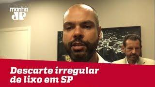 Projeto pretende reduzir descarte ilegal de lixo no bairro do Bom Retiro, em SP