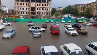 Video  Mahmut Coşkun - Boyabatta şiddetli sağanak yağmur korkulu anlar yaşattı