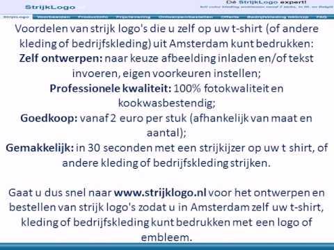 T Shirt Bedrukken In Amsterdam