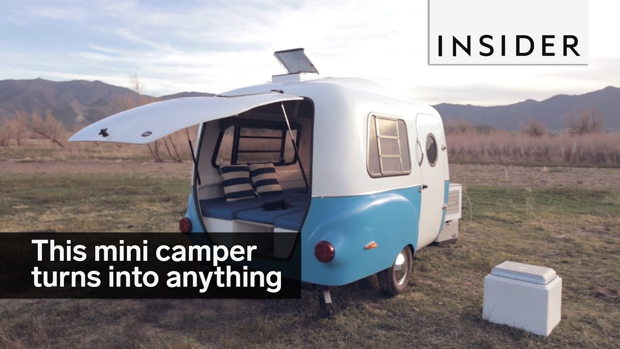 This Mini Camper Can Transform Into Anything Youtube