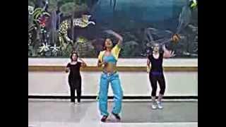 "Zumba Choreography "" Mr Fete"" Machel Montano Cha Cha Romero"