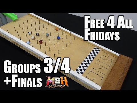Epic Marble Race: Free 4 All Fridays 2019 (Heats 3/4 +Finals!)