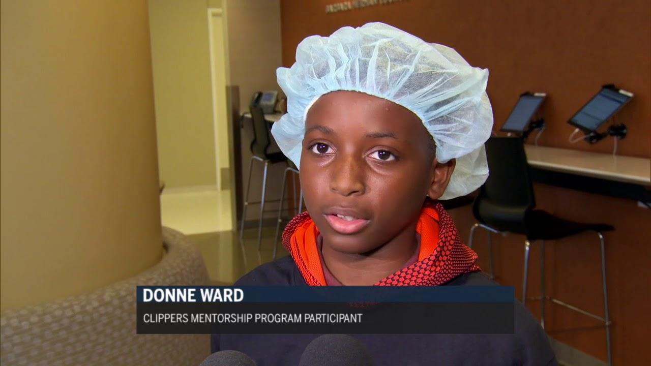 Clippers Mentorship Program Heads To Cedars-Sinai