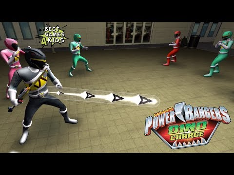 Power Rangers Dino Charge Rumble | FIRST LEVEL Challenges #2/2! By StoryToys Entertainment