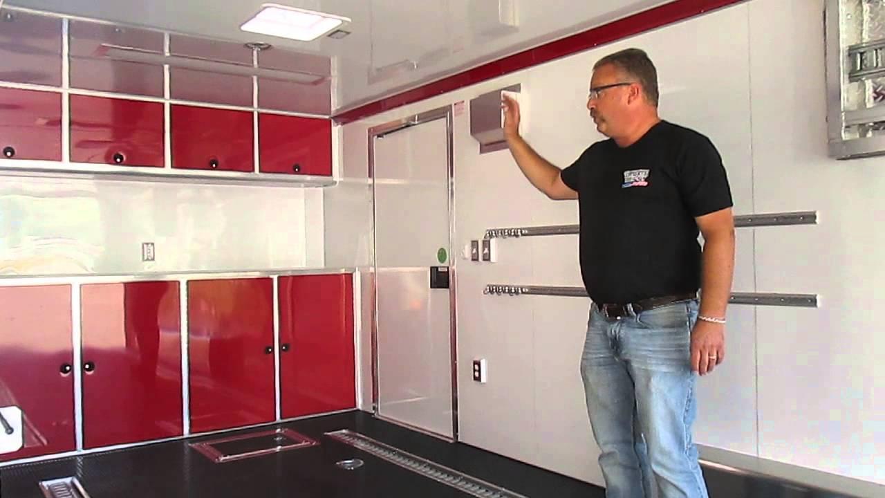Custom ATC Enclosed Car Hauler  QSTAB8524  BuiltTo