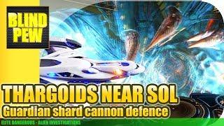Elite Dangerous - Thargoids nearing Sol - Guardian Shard Cannon Defence