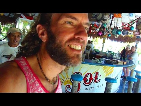 "The Coolest Restaurant in the Caribbean! ""Coconuts"" (Cozumel, Mexico)"