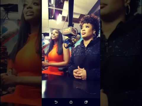 Porsha Williams & Rapper Da Brat from Fox's Dish Nation