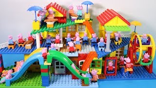 Peppa Pig Lego House Creations Toys - Lego House With Water Slide Toys For Kids #5