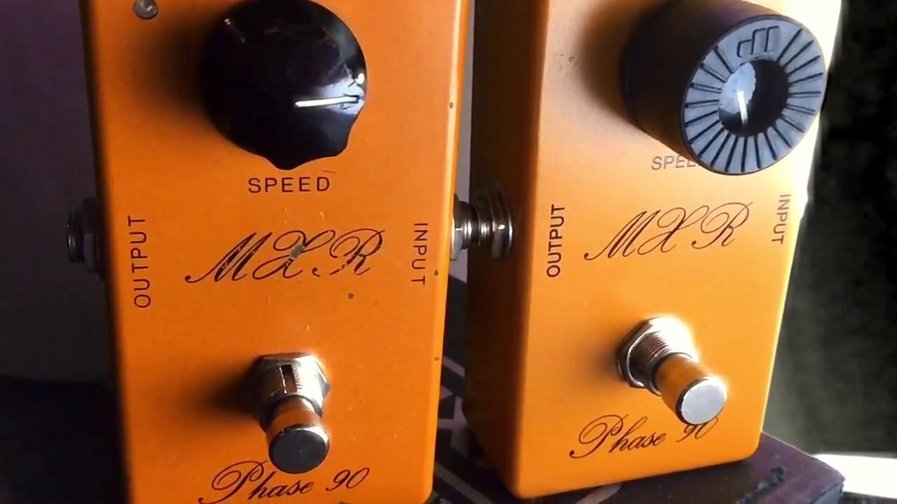 e207d22dca8 MXR CSP026 Vs. Vintage MXR Phase 90 Reissue  74 Vintage Phase 90 Comparison