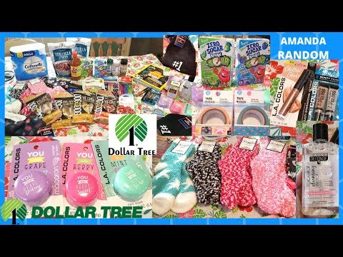 FIRST BIG DOLLAR TREE HAUL OF NOVEMBER 2019 ! NEW ITEM FINDS!