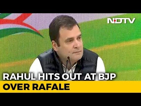 "PM ""Performed Bypass Surgery"" In Rafale Deal, Probe Him Too: Rahul Gandhi"
