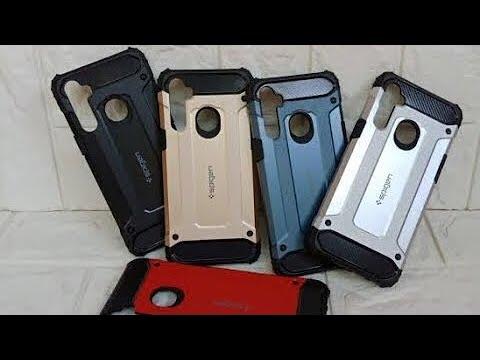 Case Spigen Iron For Redmi Note 8