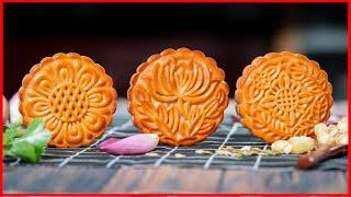 Bánh Trung Thu Thập Cẩm Bất Bại chắc chắn thành công của Cô Ba | Simple MOONCAKE Recipe [Eng Sub]