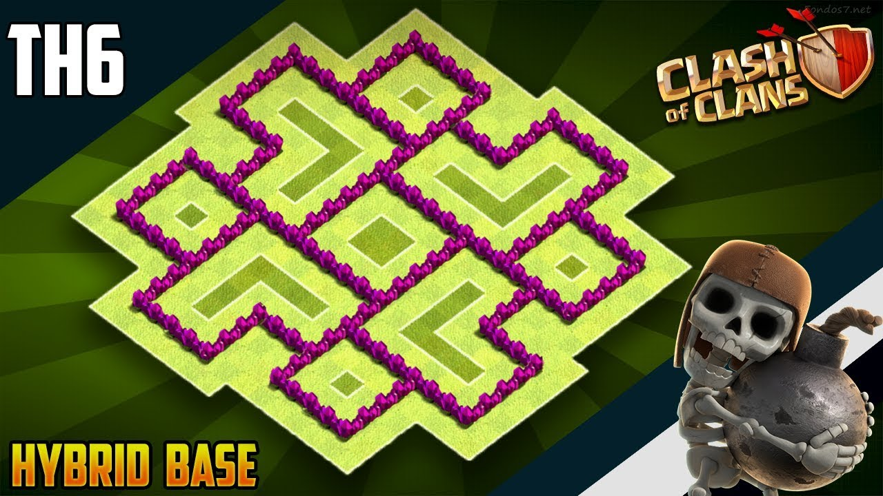 Best Coc Base For Th 6 7