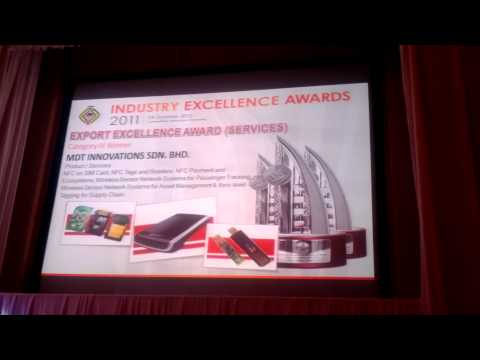 Industrial Excellence Award by Ministry of International Trade and Industry (MITI)