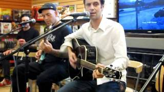 Bouncing Souls - Quik Chek Girl @ Newbury Comics in Norwood, MA (6/25/2011)