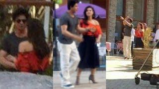 Dilwale -  Shahrukh Khan And Kajol Hot Romantic Scene