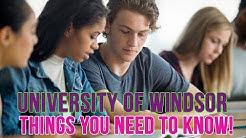 Should You School: University of Windsor