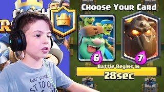 GOBLIN GIANT DRAFT CHALLENGE - Clash Royale