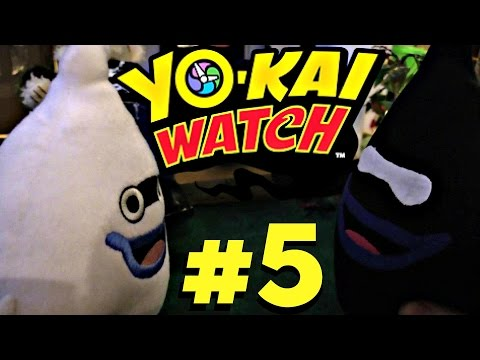 Yokai Watch plush - Episode 5 Whisper's Evil Twin