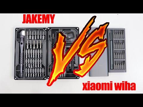 Обзор и сравнение набор отверток C алиэкспресс  Jakemy и Xiaomi Wiha. набор инструментов