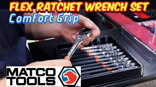 Matco Tools: Comfort Grip Flex Ratchet Wrench Set