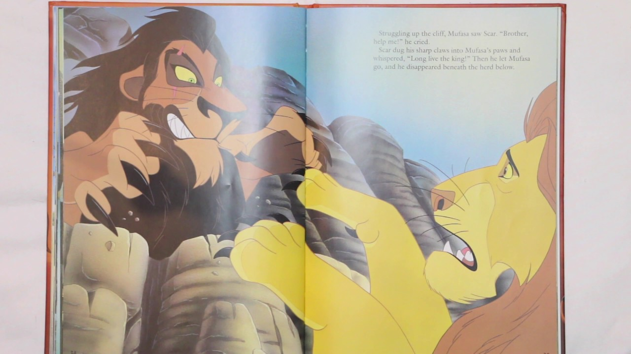 The Lion King Book  YouTube