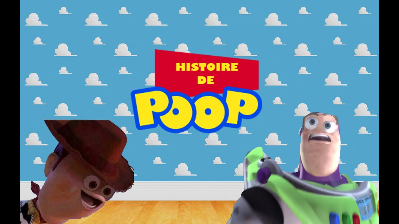 Toy Story Stool : Ytp qc histoire de poop toy story youtube