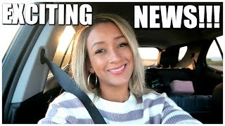 EXCITING NEWS! CAR VLOG | LINDSEYS LIFENSTYLE