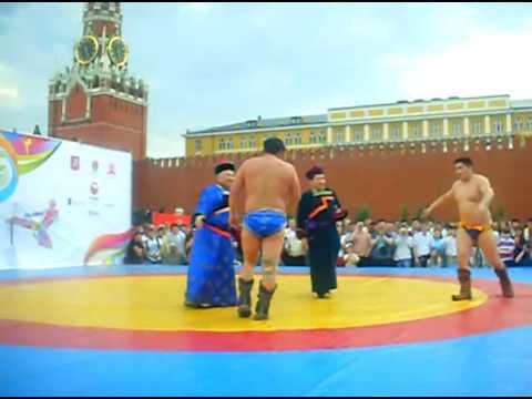 Бухэ барилдаан на Красной площади. Финал за 1-е место