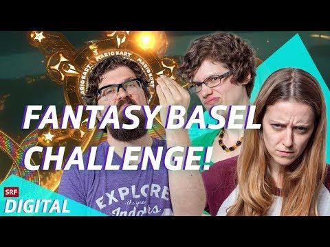 Let's Play Challenge Fantasy Basel mit Martina, Méline & Guido