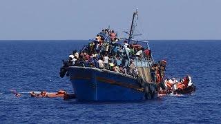 أخبار اليوم |السفيرة نائلة جبر نعمل على نشر الوعي لمكافحة الهجرة غير الشرعية