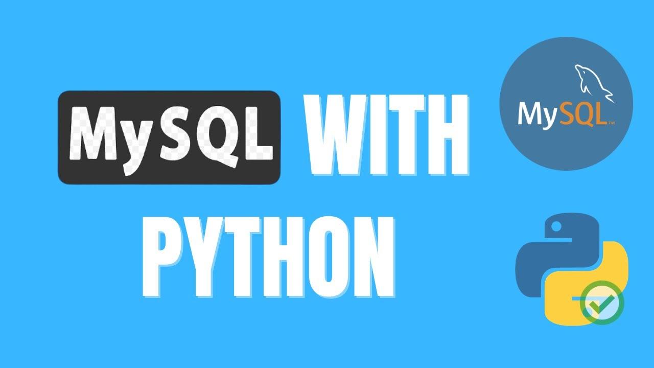 How to Use Mysql Databases in Python (Database Manipulation)