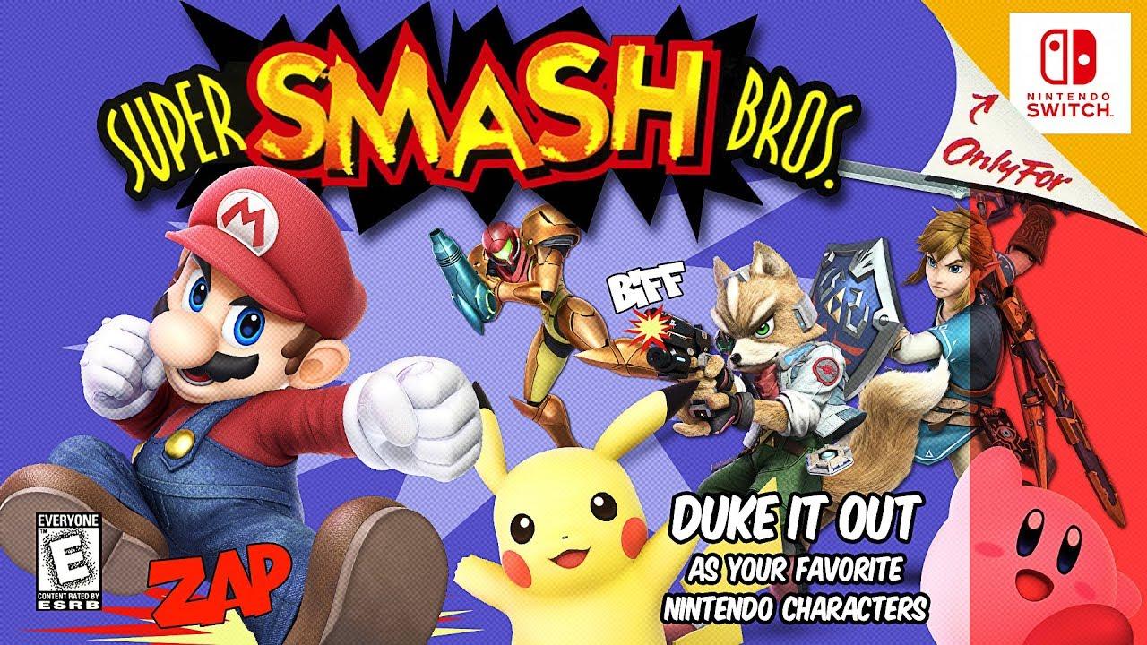 Download Super Smash Bros. Ultimate - N64 Style Intro   Great-Bit Arcade