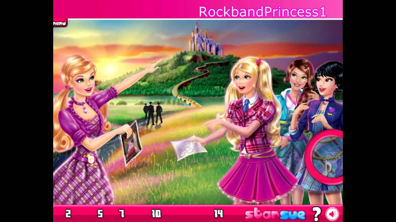 Barbie Princess Charm School Game   Barbie Princess Charm School Games  Online   YouTube
