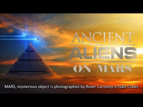 MARS, mysterious object is photographed by Rover Curiosity in Gale Crater