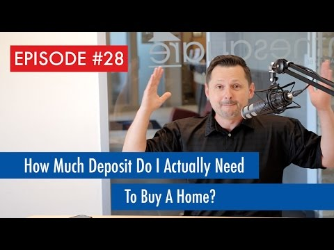 Episode 28: How Much Deposit Do I Actually Need To Buy A Home?