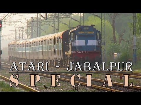 Atari - Jabalpur Special with Katni ALCo WDM3A #16784