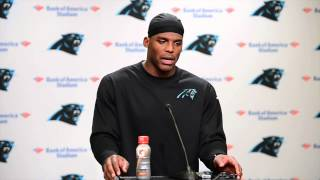 Cam Newton addresses Steve Smith's comments toward Rivera