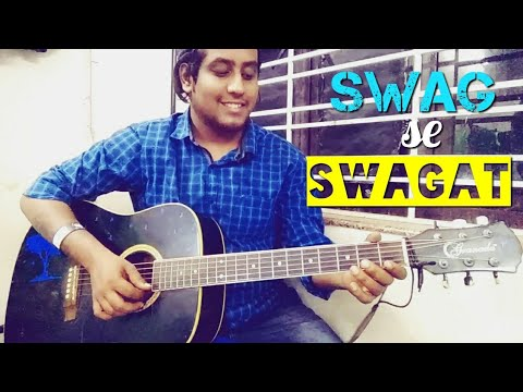 Swag Se Swagat | Easy Hindi Guitar Tabs Lead Cover Lesson For Beginners | Tiger Zinda Hai