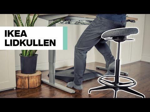Ikea Lidkullen �� Review | Great $99 Seat for Standing Desks — Improve Your Productivity!