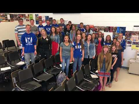 Happy MLC Day 2018 from the Winnebago Lutheran Academy Traveling Choir, Fond du Lac, WI